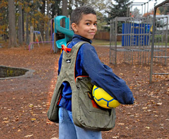 Children Can Use BackTpack