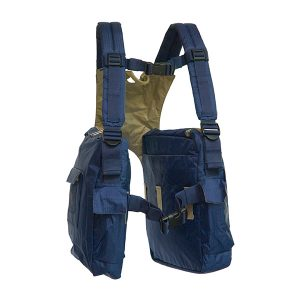 BackTpack 2 in Navy with Khaki Lining