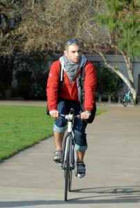 Cycling with BackTpack