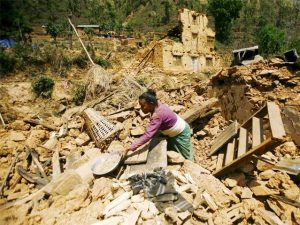 Devastation from Nepal's earthquake
