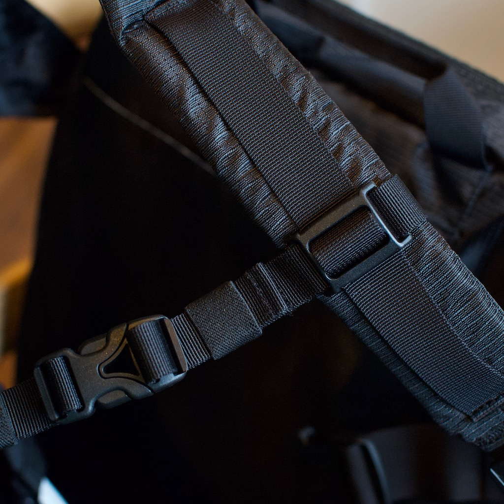 Detail photo of BackTpack 3.1 black sternal strap