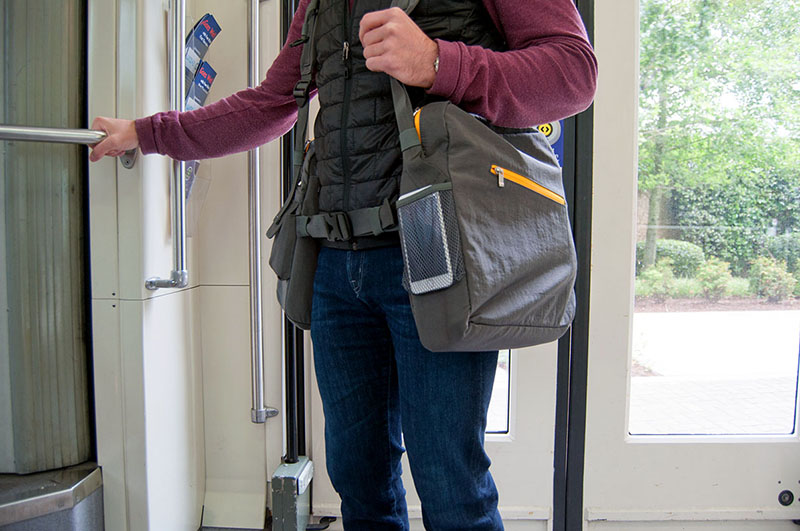 BackTpack an ergonomic commuter bag