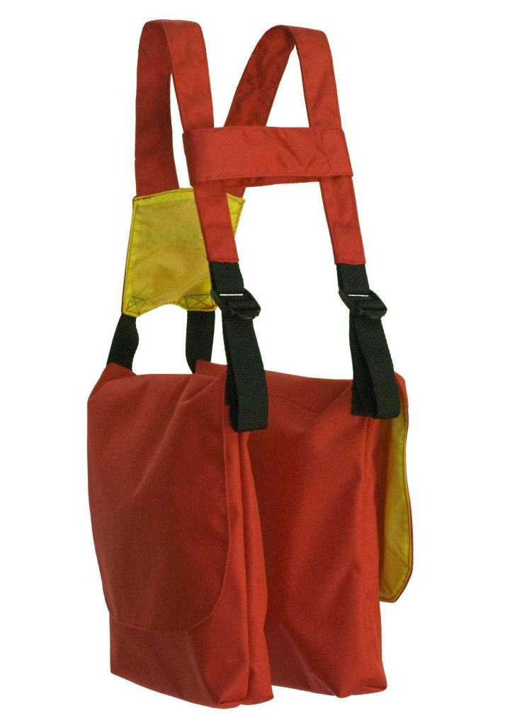 BackTpack Mini Red/Yellow