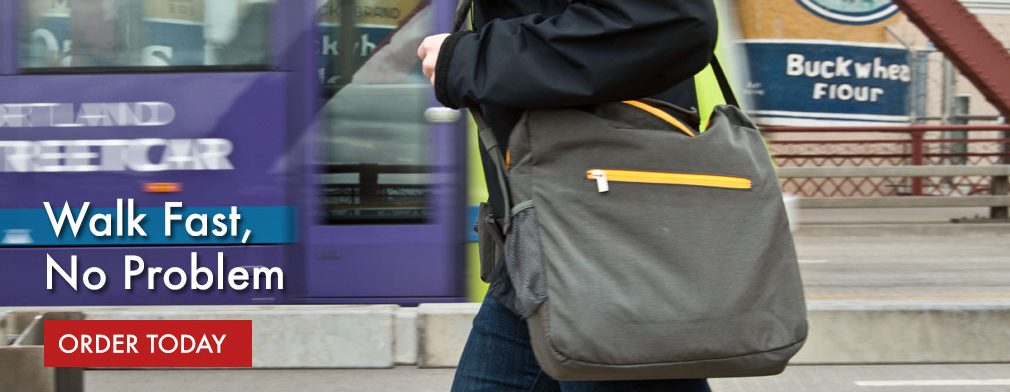 BackTpack allows you to Walk Fast, No Problem